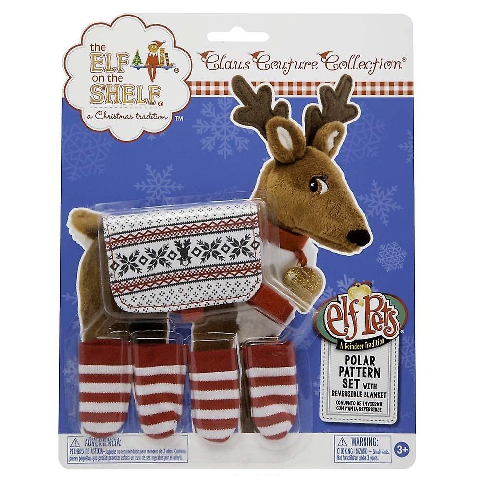 The Elf on the Shelf Polar Pattern Set