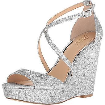 BADGLEY MISCHKA naisten Averie Peep Toe rento nilkka hihna sandaalit