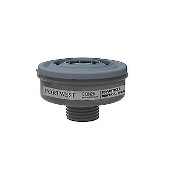 Portwest p3 particle filter universal tread p946 (6)