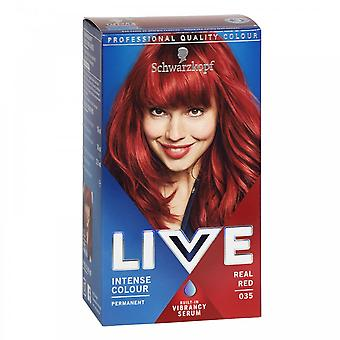 Schwarzkopf Live Intense Hair Color - Real Red (035)