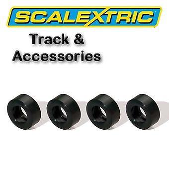Scalextric accessoires-Classic Pack van 4 Silicon banden