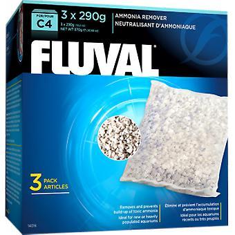 Fluval FLUVAL C4 AMONIA (kala, suodattimet & vesipumput, suodattaa sieni ja vaahdon)