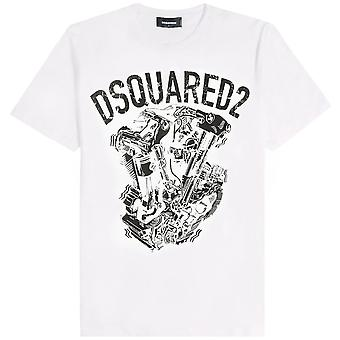 Dsquared2 DSquared2 Engine Graphic Print T-Shirt