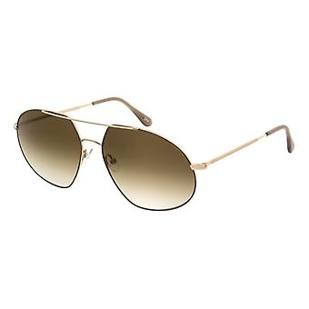 Andy Wolf Quincy H Gold/Brown Gradient Sunglasses