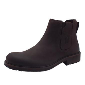 Camel Active Buster Chelsea Men's Leather Boots In Mocca