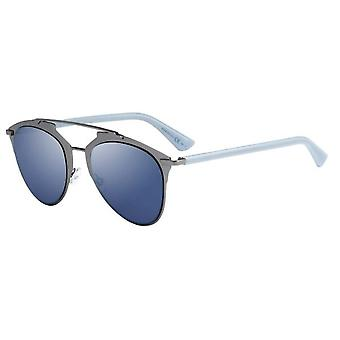 Dior Reflected TUY/XT Dark Ruthenium-Blue/Blue Mirror Sunglasses