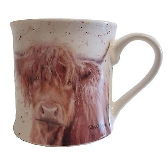 Bree Merryn Bonny Highland Cow China Mug