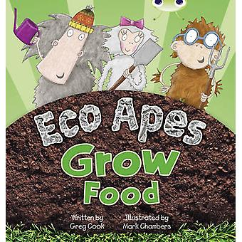 Bug Club Red C (KS1) Eco Macacos Grow Food por Greg Cook - 9780435914424