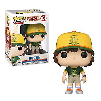 Stranger Things Dustin au Camp Pop! Vinyle
