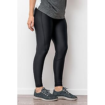 Cadenshae Classic Active Maternity Leggings - Cropped Length