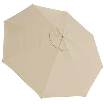 13Ft 8 Rib Patio Umbrella Replacement Cover Canopy Outdoor Market Beach Deck Top