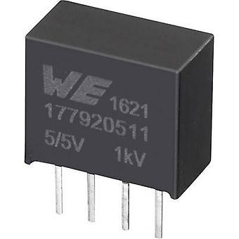Würth Elektronik 177920511 DC/DC-Wandler (Druck) 5,5 V 5 V 0,2 A 1 W Nr. der Ausgänge: 1 x
