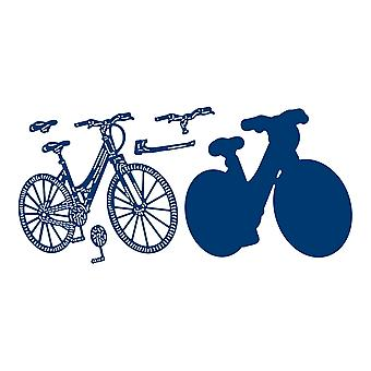 Tattered Lace Bicycle Die Set