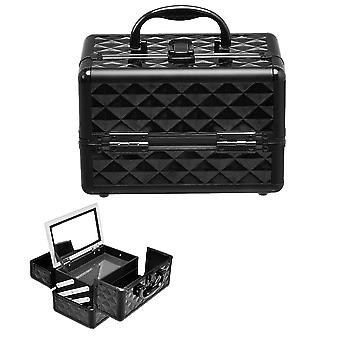 EXLarge Cosmetic Box & Nail Polish Vanity Beauty Makeup Jewelry Saloon Case