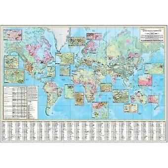 World Distribution of Uranium Deposits by International Atomic Energy