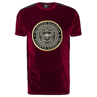 Glorious Gangsta | 0075 Mareno Velour Half Sleeve T-shirt
