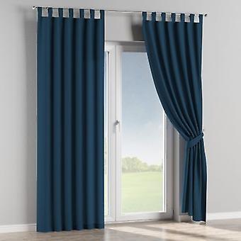 Schlaufenschal, marinenblau , 130 × 260 cm, Cotton Panama, 702-30