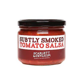Scarlett & Mustard Subtly Smoked Tomato Salsa