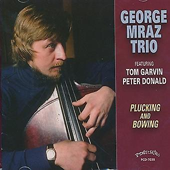 George Mraz Trio - Plucking and Bowing [CD] USA import