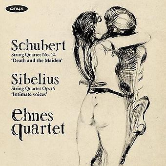 Schubert / Sibelius / Ehnes Quartet - String Quartet No 14 / String Quartet Op 56 [CD] USA import