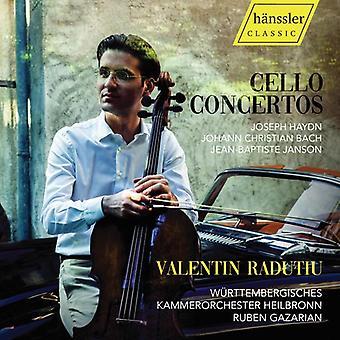 Cello Concertos [CD] USA import