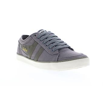Gola Comet  Mens Gray Canvas Lace Up Lifestyle Sneakers Shoes