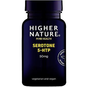 Higher Nature Serotone 5-HTP 50mg Vegetable Capsules 30 (SE5030)
