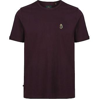 Luke 1977 Traffs T-Shirt Burgundy 92