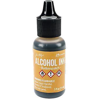Tim Holtz Alcohol inkt .5oz-Butterscotch
