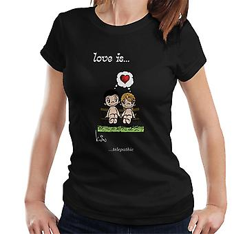 Love Is Telepathic Women's T-Shirt