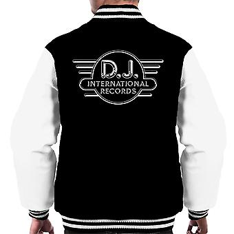 DJ International Records Logo Men's Varsity Jacket