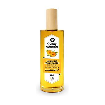 Organic body oil with calendula 100 ml of oil (Floral)