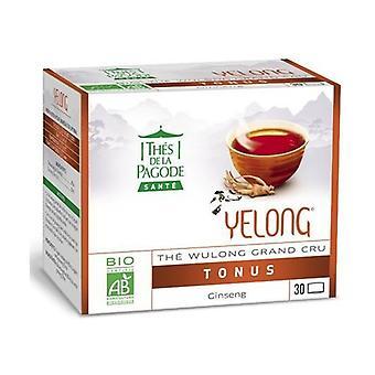 Yelong Organic Wulong Tea With Ginseng - Vitality 30 infusion bags