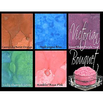 Lindy's Stamp Gang Victorian Bouquet Magical Set