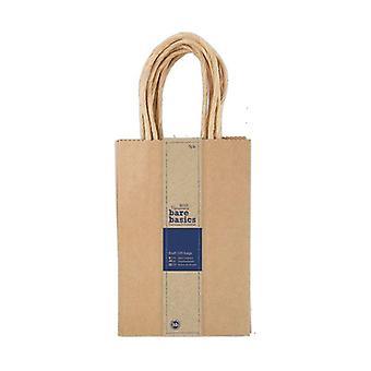 Papermania Bare Basics Kraft Gift Bags - Small