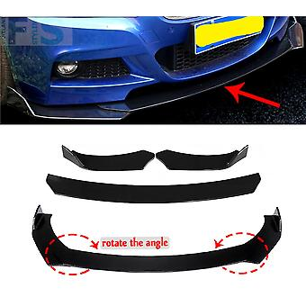 Hummer H1, H2, H3 Gloss Black Car Front Splitter Spoiler