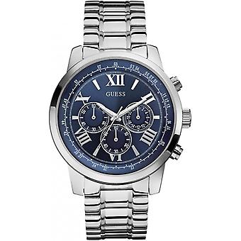 Guess W0379G3 Men's Analogue Quartz Watch with Stainless Steel Bracelet