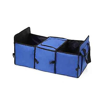 Soga Car Portable Storage Box Waterproof Cloth Multifunction Blue