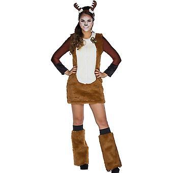 Deer Pehmo Hyvät puku eläinten puku deer metsä rekitz 3-osainen