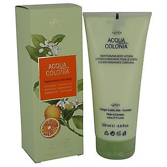 4711 Acqua Colonia Mandarine & cardamome Body Lotion lotion pour le corps par Maurer & Wirtz 6,8 oz Body Lotion lotion pour le corps