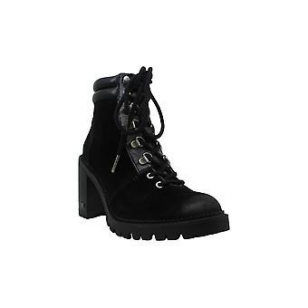 Sam Edelman Womens Sade Fabric Almond Toe Ankle Fashion Boots