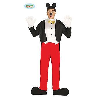 Ratón de dibujos animados ratón traje traje talla MacLean hombres