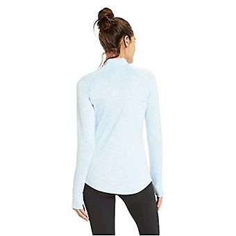 Brand - Core 10 Women's Standard Be Warm Brushed Thermal Fitted Mock L...