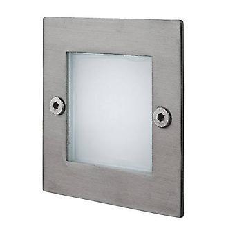 Firstlight - LED 9 Light Wand& Schrittlicht Edelstahl IP44