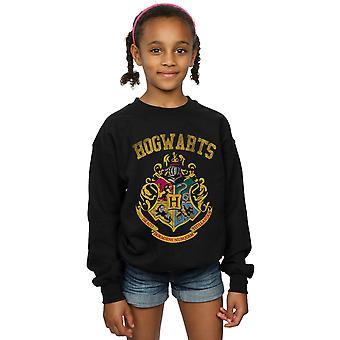 Harry Potter Mädchen gefüllt Wappen Varsity Sweatshirt