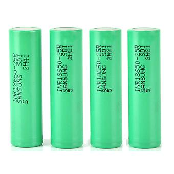 Genuine Samsung Battery INR 18650-25R 2500mAh 3.7V Rechargeable For Vape