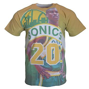 Mitchell & Ness City Pride MN Seattle Supersonics Gary Payton BMTRKT18007SSUKYGNGPA basquete todo o ano