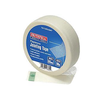 Faithfull PT1-50 Plasterers Joint Tape 50mm x 90m FAITAPEJOINT