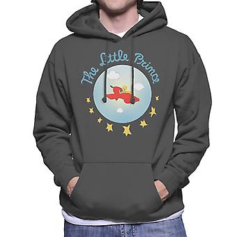 The Little Prince Airplane Flight Men's Hooded Sweatshirt
