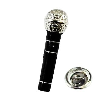 Ties Planet Microphone Lapel Pin Badge
